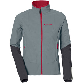 VAUDE Primasoft Jacket Women pewter grey